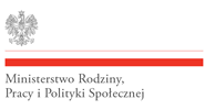 Baner: Ministerstwo Rodziny, Pracy i Polityki Społecznej